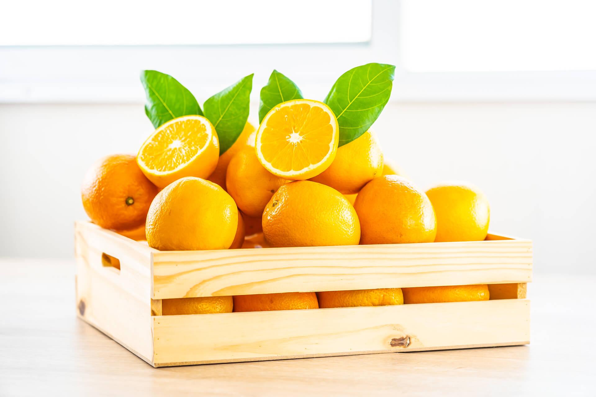 Naranjas, una fruta sabrosa y beneficiosa.