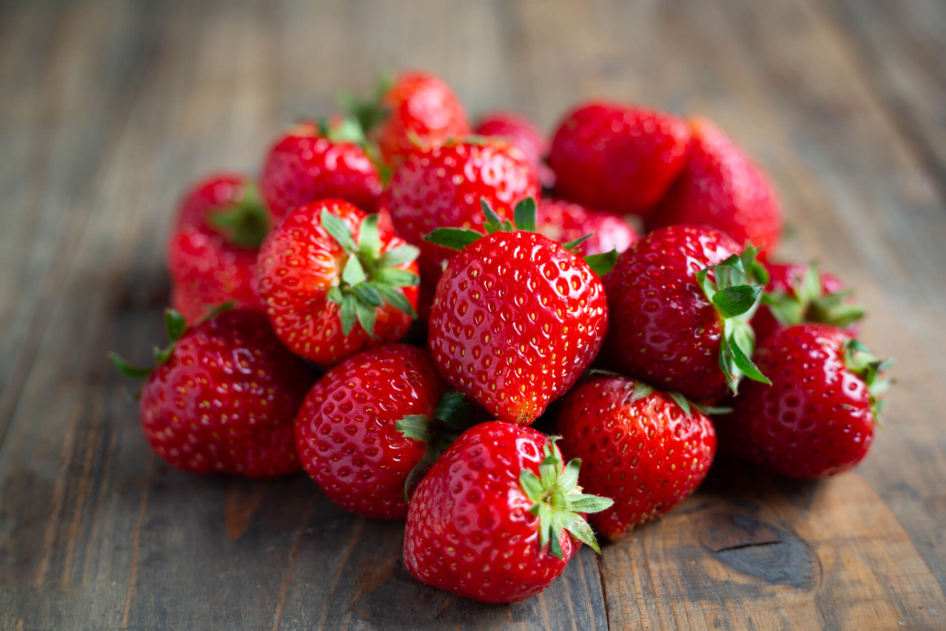 fresas jugosas y sabrosas