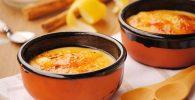 receta de crema catalana en el microondas